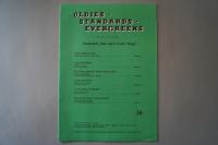 Oldies Standards Evergreens Heft 38 Notenheft