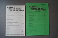 Oldies Standards Evergreens Heft 21 plus Beiheft C-Stimme Notenheft