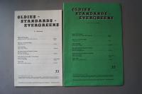 Oldies Standards Evergreens Heft 33 plus Beiheft C-Stimme Notenheft