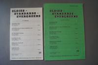 Oldies Standards Evergreens Heft 19 plus Beiheft C-Stimme Notenheft