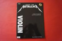 Metallica - Best of (mit CD)  Notenbuch  Violin