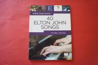 Elton John - 40 Hits Songbook Notenbuch Easy Piano Vocal