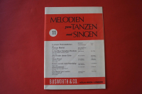 Melodien zum Tanzen und Singen Heft 11 Notenheft