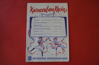 Karneval am Rhein 1973 Notenheft