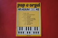 Pop E-Orgel Hit-Album Heft 42 Notenheft