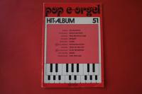 Pop E-Orgel Hit-Album Heft 51 Notenheft