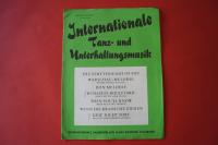 Internationale Tanz- und Unterhaltungsmusik Notenheft