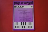 Pop E-Orgel Hit-Album Heft 6 Notenheft