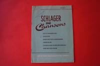 Schlager und Chansons Heft 4 Notenheft