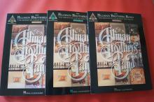 Allman Brothers Band - Definitive Collextion 1 & 2 & 3 Songbooks Notenbücher Vocal Guitar