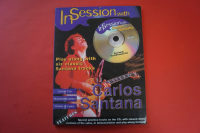 Santana - In Session with (mit CD) Songbook Notenbuch Guitar