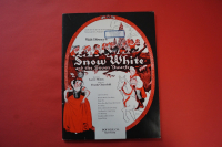 Snow White and the Seven Dwarfs Songbook Notenbuch Piano Vocal Guitar PVG