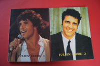 Julien Clerq - Songbook 1 & 2 Songbooks Notenbücher Piano Vocal Guitar PVG