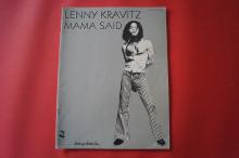 Lenny Kravitz - Mama said Songbook Notenbuch Piano Vocal Guitar PVG