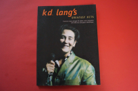 K.D. Lang - Greatest Hits (ältere Ausgabe) Songbook Notenbuch Piano Vocal Guitar PVG