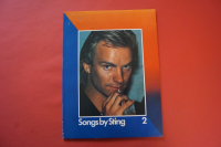 Police - Songs by Sting 2 Songbook Notenbuch Piano Vocal Guitar PVG