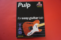 Pulp - For Easy Guitar Tab Songbook Notenbuch Vocal Easy Guitar