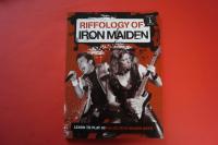 Iron Maiden - Riffology Notenbuch Guitar