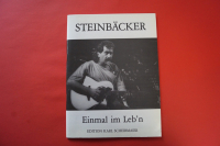 Steinbäcker - Einmal im Leb´n Songbook Notenbuch Piano Vocal Guitar PVG