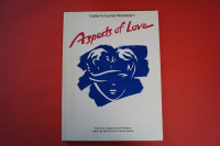 Aspects of Love Songbook Notenbuch Piano Vocal Guitar PVG