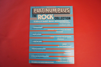 Platinum Plus Rock Collection Songbook Notenbuch Piano Vocal Guitar PVG