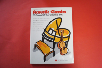 Acoustic Classics 50s & 60s Songbook Notenbuch Piano Vocal Guitar PVG
