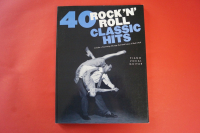 40 Rock n Roll Classic Hits Songbook Notenbuch Piano Vocal Guitar PVG