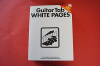 Guitar Tab White Pages Songbook Notenbuch Vocal Guitar