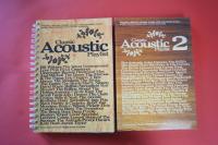 Classic Acoustic Playlist Volume 1 & 2 Songbooks Notenbücher Vocal Guitar Chords