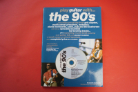 Play Guitar with the 90s (mit CD) Songbook Notenbuch Vocal Guitar