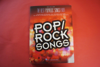 The Best Pop/Rock Songs ever Songbook Notenbuch Piano Vocal Guitar PVG