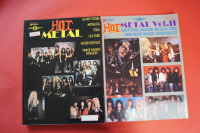 Hot Metal Volume 1 & 2 Songbooks Notenbücher Vocal Guitar