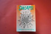 Dacapo Liederbuch der KJG Amberg Songbook Notenbuch Vocal Guitar
