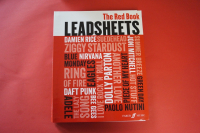 Leadsheets The Red Book Songbook Notenbuch Vocal Guitar