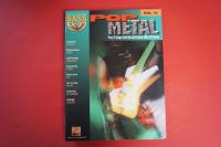 Pop Metal (Bass Play Along, mit CD) Bassbuch