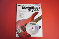 Fast Forward Metal Bass Styles (mit CD) Bassbuch