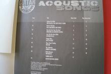 Acoustic Songs (Guitar Play Along, mit CD) Gitarrenbuch