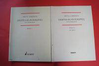 Erstes Klavierspiel Ein Lehrgang Band 1 & 2 Klavierbücher