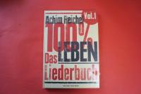 Achim Reichel - 100 % Leben Vol. 1 (OVP)  Songbook Notenbuch Vocal Guitar