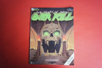 Over Kill - The Years of Decay (ohne Poster) Songbook Notenbuch Vocal Guitar