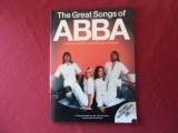 Abba - The Great Songs of Abba (neuere Ausgabe, mit CD)  Songbook Notenbuch Piano Vocal Guitar PVG
