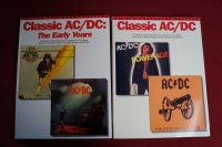 ACDC - Classic ACDC & Classic Early Years  Songbooks Notenbücher Vocal Guitar