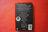 ACDC - Little Black Songbook Songbook  Vocal Guitar Chords
