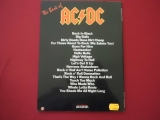 ACDC - The Best Of AC/DC  Songbook Notenbuch Vocal Guitar