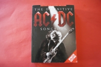 ACDC - The Definitive Songbook (updated)  Songbook Notenbuch Vocal Guitar