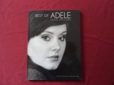 Adele - Best of  Songbook Notenbuch Piano Vocal Guitar PVG