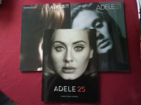 Adele - 19 & 21 & 25 Songbooks Notenbücher Piano Vocal Guitar PVG