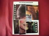 David Bowie - The Vintage David Bowie  Songbook Notenbuch Piano Vocal Guitar PVG