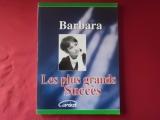 Barbara - Les plus grands Succès  Songbook Notenbuch Piano Vocal Guitar PVG