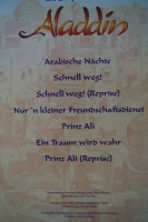 Aladdin  Songbook Notenbuch Piano Vocal Guitar PVG